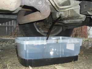 car oil drain