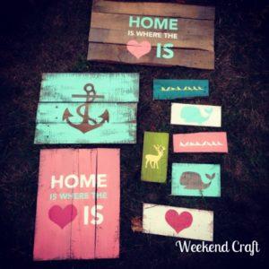 DIY+Pallet+Signs