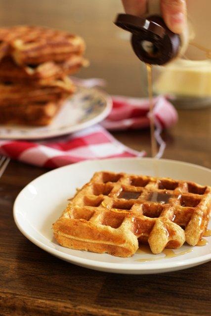 Oatmeal-Waffles
