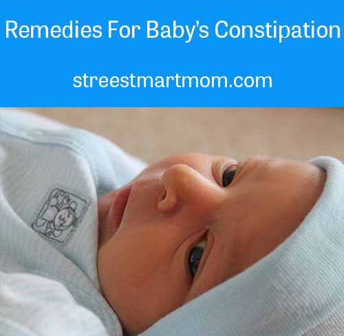 constipated baby remedies