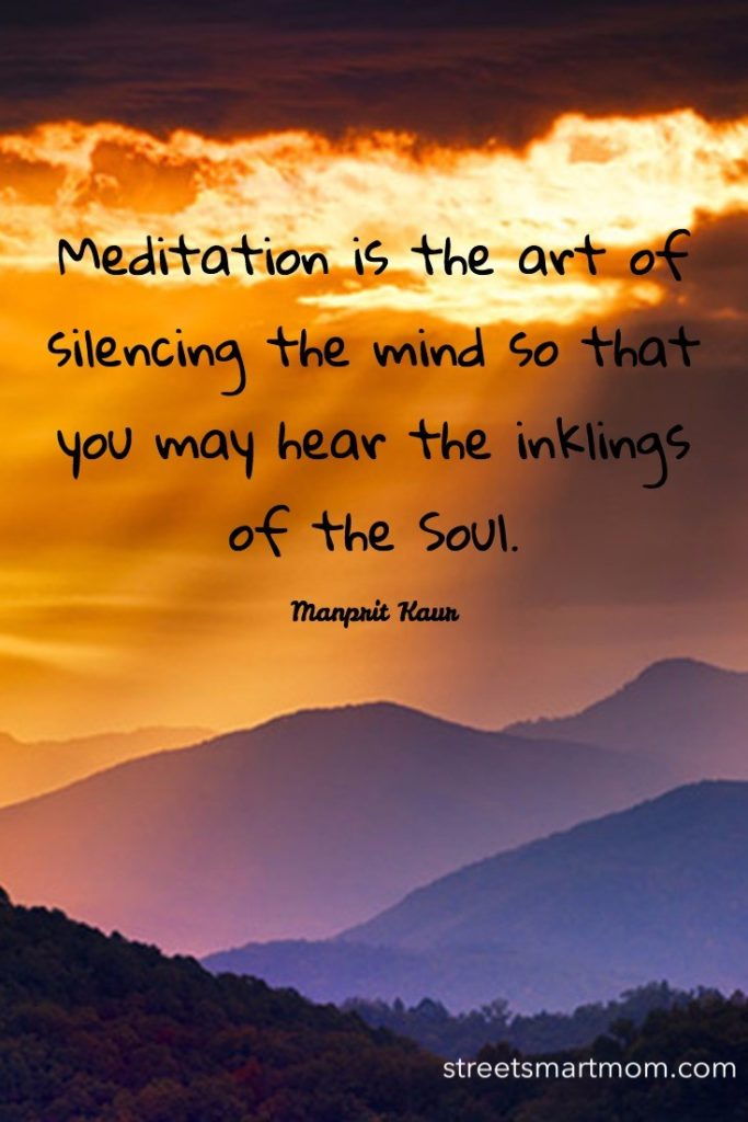 meditation for the soul
